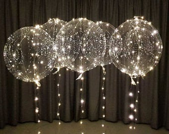 proposing LED light up balloons